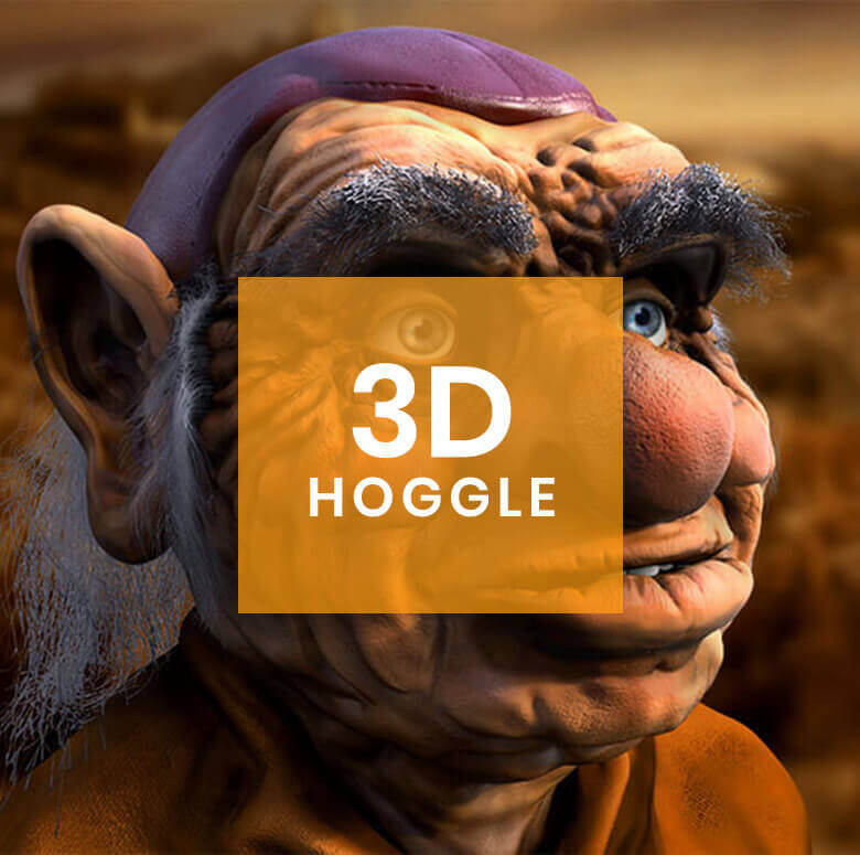 3D Character Design: Hoggle