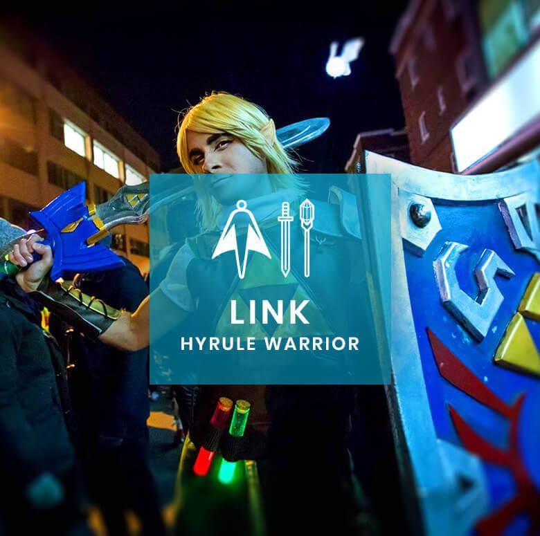 Costume & Prop Design: Link, Hyrule Warrior